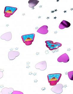 Prinzessin Party Konfetti Tischdeko lila-rosa 14g