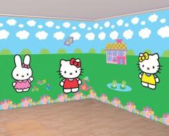 Hello Kitty™ Wanddeko Lizenzware