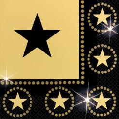 Servietten mit Sternenmotiven