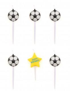Geburtstagskerzen Fußball