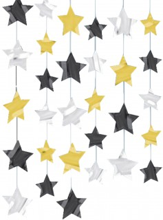 Hängegirlanden mit Sternen