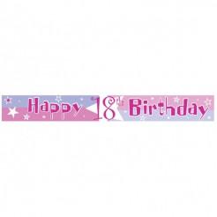 Geburtstagsbanner Happy Birthday Partyzubehör