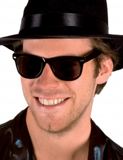 Blues Brothers Brille schwarz