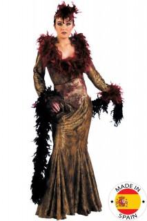 20er Lady Deluxe Damenkostüm gold