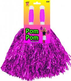 Pom Poms für Cheerleader pink