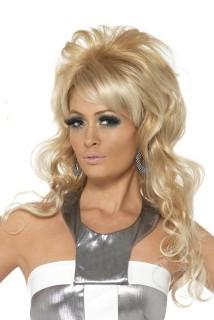 Damenperücke 80er Jahre Blond