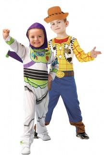 Woody und Buzz LightyearToy Story™ Paarkostüm für Kinder