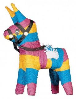 Pinata Esel Party-Spiel bunt 25x14x50cm