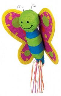 Piñata Schmetterling bunt