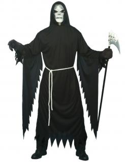 Tod Halloween Kostüm schwarz-weiss