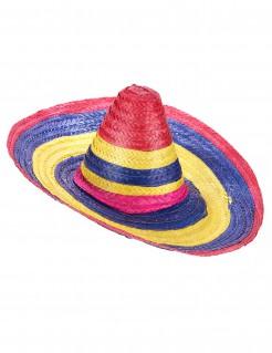 Sombrero-Hut Erwachsene bunt