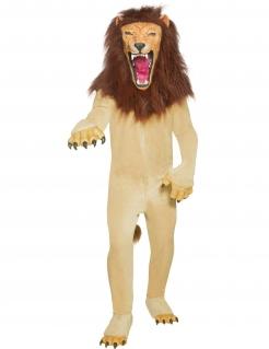 Cirque Sinister Böser Zirkus Löwe Kostüm beige-braun