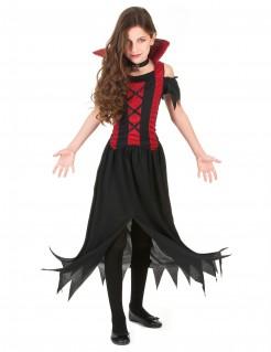 Vampirin Halloween-Kinderkostüm