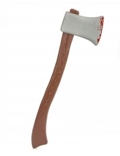 Axt Steinzeitwaffe braun-grau