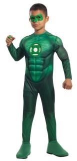 Green Lantern™ Kinderkostüm für Jungen grün