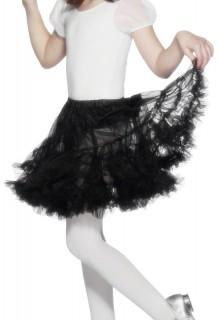 Kinder Petticoat Tutu schwarz