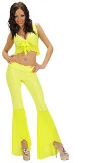 Samba-Tänzerin Kostüm Damen neongelb