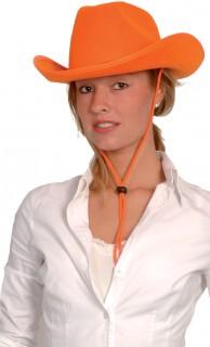 Partyhut für Erwachsene orange