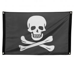 Piraten-Flagge schwarz-weiss 90x60cm