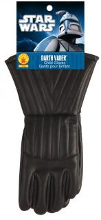 Darth Vader™-Kinderhandschuhe Star Wars™-Lizenzartikel schwarz
