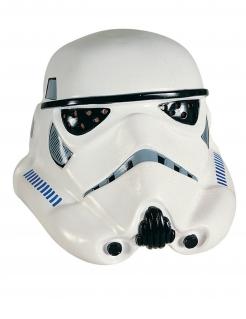 Stormtrooper™-Maske Star Wars™-Accessoire weiss-schwarz