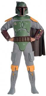 Boba Fett Star Wars™ Lizenzkostüm grau-bunt