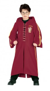 Harry Potter™-Kinderkostüm Quidditch-Anzug rot-gold