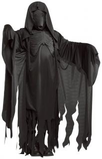Dementor-Kostüm Harry Potter™ Halloweenkostüm schwarz