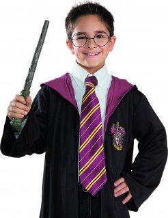 Harry Potter Accessoires-Set für Kinder Lizenzware Zauberer 2-teilig schwarz-bunt