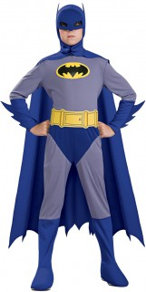 Batman-Kostüm für Jungen blau