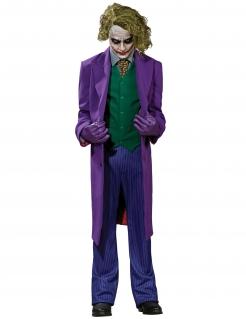 Joker™-Kostüm Komplettset für Herren Faschingskostüm violett-grün