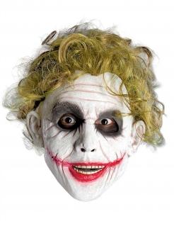 Joker™-Perücke Halloween-Accessoire grün
