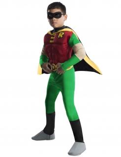 Deluxe Robin™-Superheldenkostüm für Kinder bunt