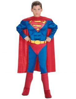 Superman™-Kostüm für Kinder Superheld Fasching rot-blau-gelb