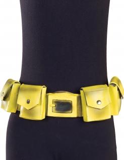 Batman™-Gürtel für Herren Accessoire gelb