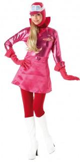 Penelope Pitstop Wacky Races Damen-Kostüm rot
