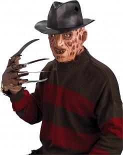 Freddy Krüger Hut Kostümaccessoire schwarz