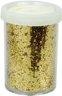 Pailletten-Tischdeko gold 15g