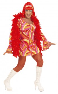 Drag Queen Disco XL gelb-orange-pink