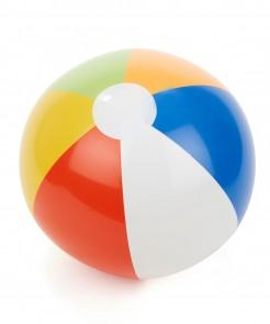 Wasserball aufblasbar blau-orange-grün