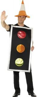 Ampel Kostüm rot-gelb-grün