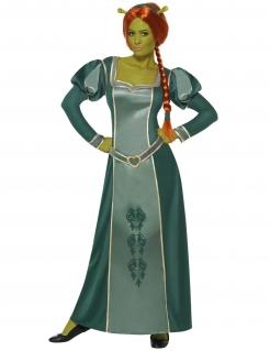 Shrek Fiona Comic Damenkostüm Lizenzware grün
