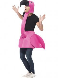 Lustiger Flamingo Unisex-Kostüm pink