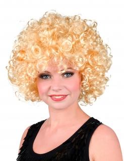Showstar-Damenperücke Kurze Lockenperücke Filmstar blond