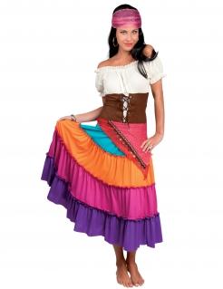 Wahrsagerin Damen-Kostüm bunt