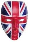 Großbritannien Maske für Fans