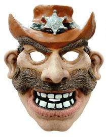 Cowboymaske