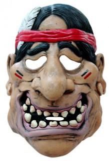 Indianer-Maske Erwachsene hautfarben