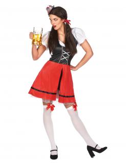 Sexy Bayerin Kostüm Dirndl für Damen