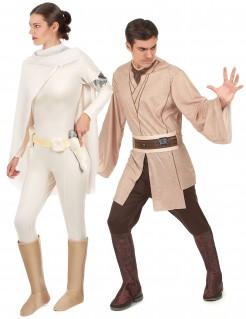 Star Wars™ Paarkostüm Jedi und Prinzessin Amidala beige-braun-weiss